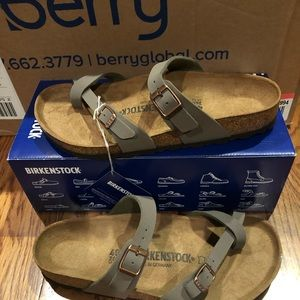 Birkenstock Mayari Stone 9 Medium New